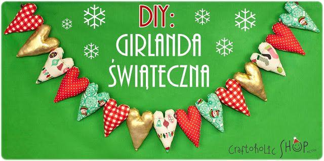 Craftoholic BLOG: Girlanda świąteczna w 3 prostych krokach!