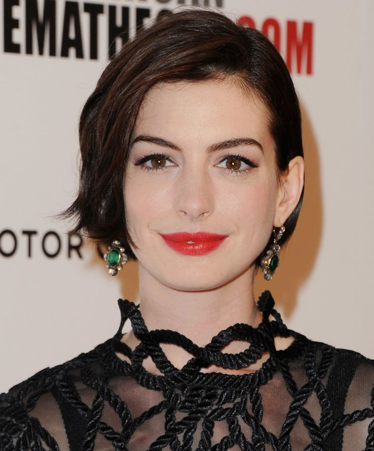 Anne Hathaway Haircut: 25+ Best Ideas About Anne Hathaway Haircut On Pinterest