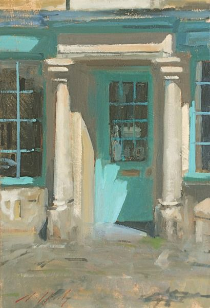 Paul Rafferty Blue Door Burford 21st century