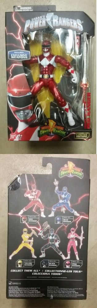 TV Movie and Video Games 75708: Red Ranger Bandai Mighty Morphin Power Rangers Legacy Collection Exclusive -> BUY IT NOW ONLY: $50 on eBay!