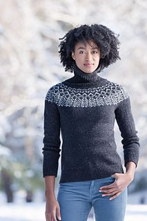 New from Brooklyn Tweed. Their new collection Yokes just launched this week.