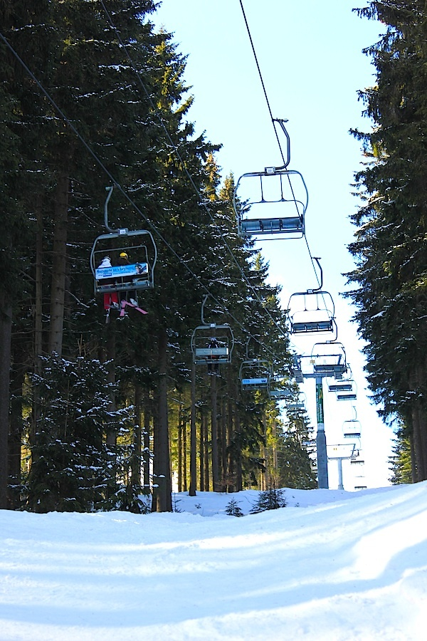 March 16, 2013. Time to enjoy some winter sports in excellent conditions in Spindleruv Mlyn. www.traveladept.com