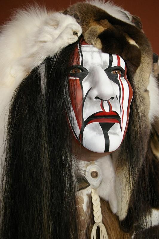 Seven Trails II Spirit Mask by Cindy Jo Popejoy