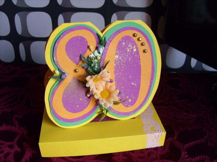 80 urodziny więcej na www.kasartt.blogspot.com