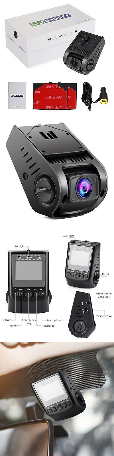Digital Video Recorders Cards: Nexgadget Dash Cam 170°Wide Angle Full Hd 1080P Mini Car Dashboard Camera... -> BUY IT NOW ONLY: $54.87 on eBay!