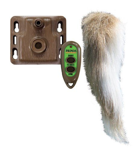 Give deer a sense of confidence with the Waggin' Whitetail. Attach the decoy motor to any deer decoy tree or post to simulate deer movement....