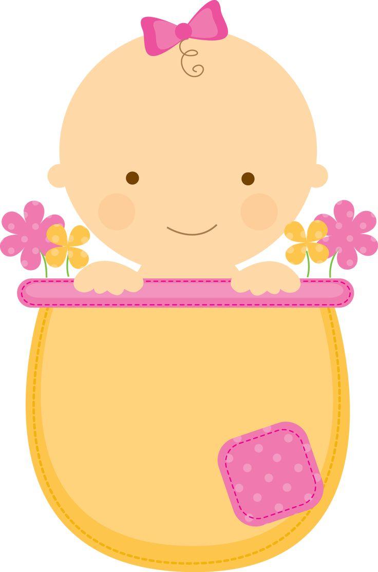 Flowerpot Babies - ClipArt.BabyinFlowerpot_Pink_Yellow.png - Minus