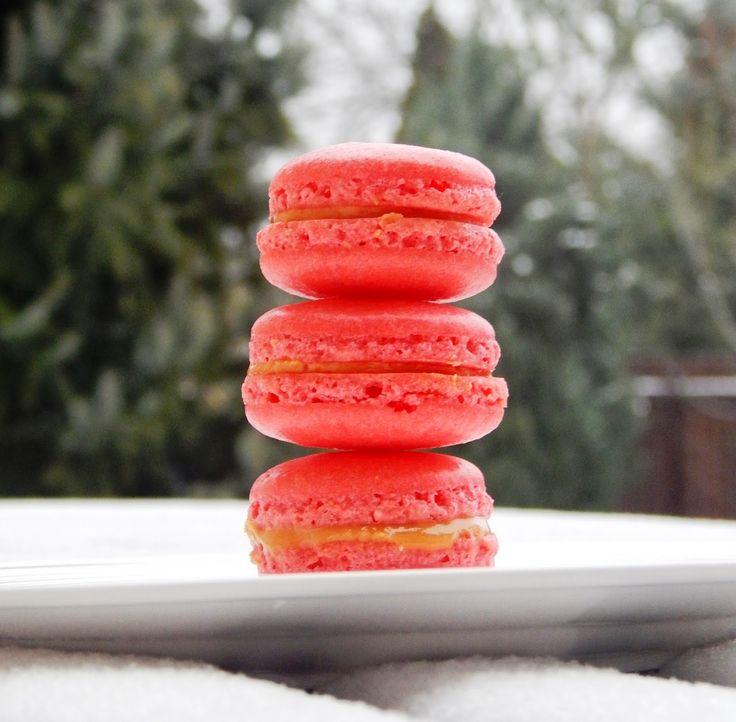 Z ghetta blog: Makrónková story: Macarons s burákovým máslem
