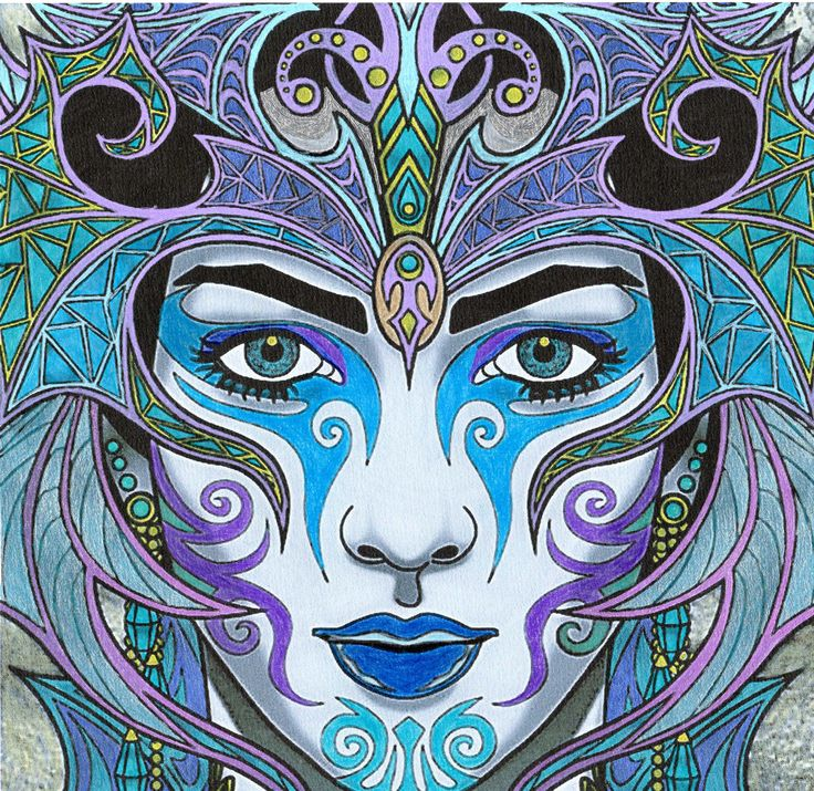 Épinglé par MYRIAM sur MAGICAL BEAUTY colorié par Ptit ...