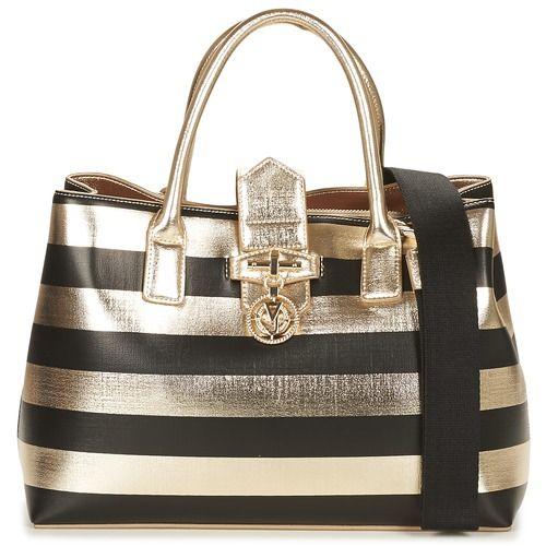 Handtassen+kort+hengsel+Versace+Jeans+E1VPBBT3+Zwart+/+Goud+150.00+€