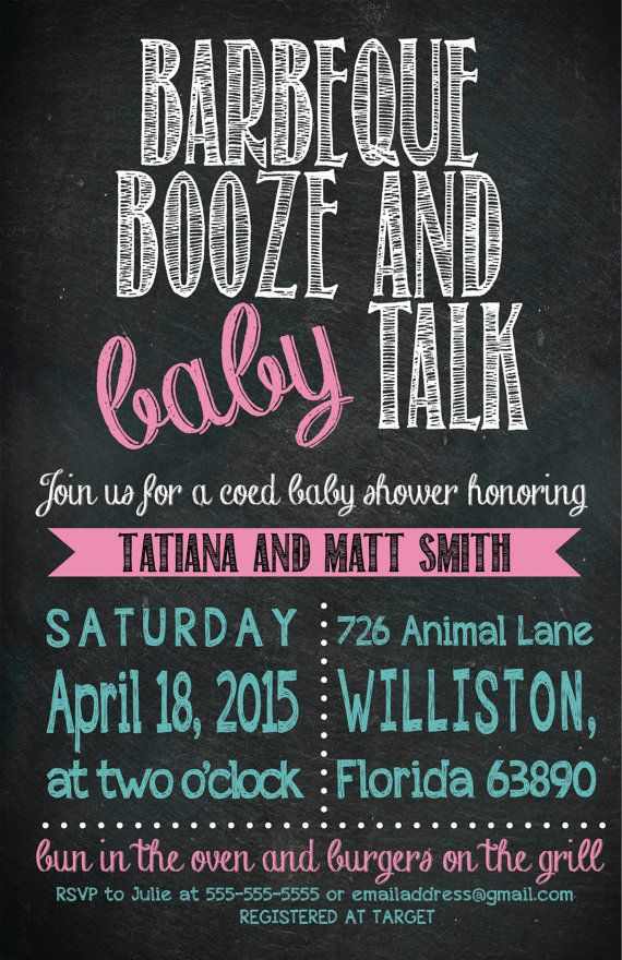449 best Birthday and baby shower invitations images on Pinterest ...