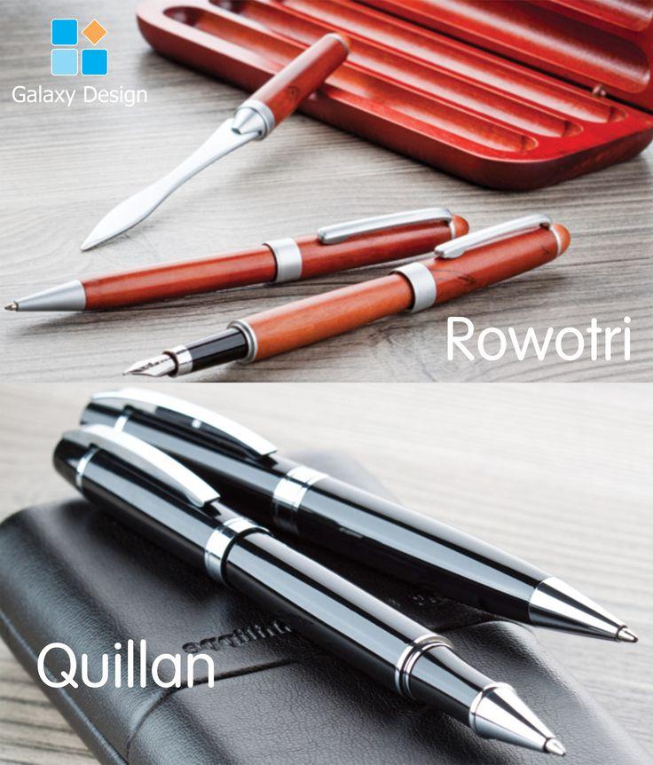 Metal sau lemn? Pastă neagră sau pastă albastră? Roller sau stilou? Quillan sau Rowotri? Oare ce să fie?  *RĂSPLĂTEȘTE un parteneriat de succes cu o AMINTIRE  REMARCABILĂ!