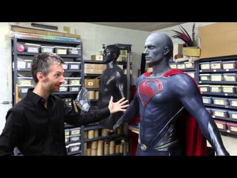 superman man of steel suit - YouTube
