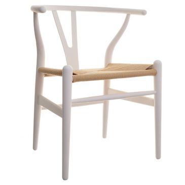Vita Interiors - Reproduction Classics > Dining Chairs > Hans J Wegner Style CH24 Wishbone Chair - Coloured