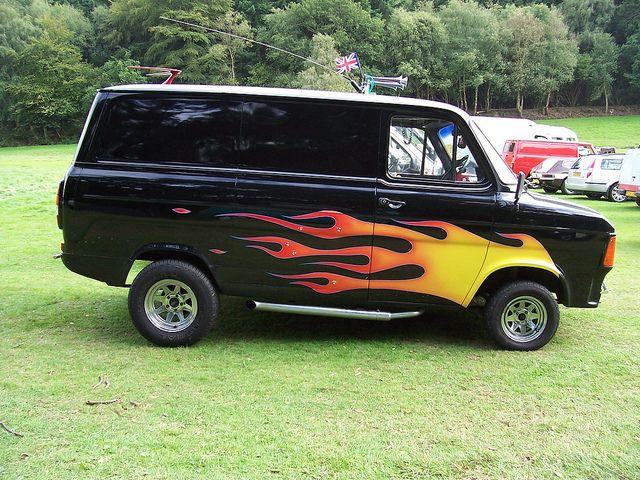 ford custom vans | Ford Transit MK2 Custom Van