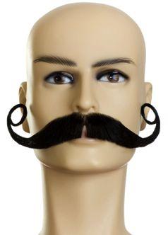 Otra opción de bigote para festejar el mes patrio
