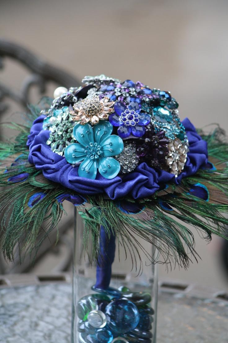 Great Centerpiece Idea Blue Wedding Ideas   Www.WeddingSearchesGuide.com
