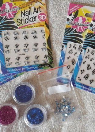 Kup mój przedmiot na #vintedpl http://www.vinted.pl/kosmetyki/pielegnacja-paznokci/18874198-zestaw-ozdoby-do-paznokci-zelowych-akrylowych-brokat-cyrkonie-naklejki-3d