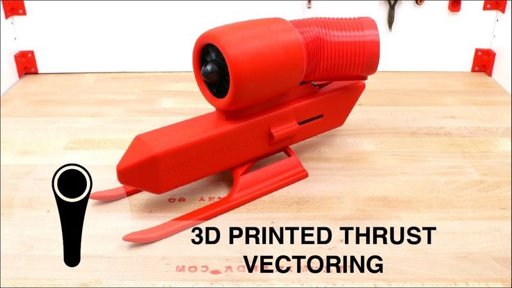 3D PRINTED THRUST VECTORING