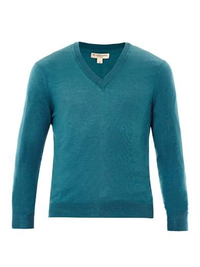 Cawour cashmere fine-knit sweater | #BurberryLondon