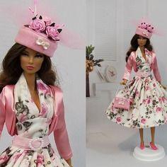 """Robe """" coraline """" tenue pour poupée barbie f3788"""