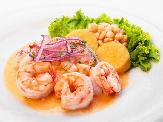 Shrimp Ceviche - Hot Stone Shrimp Ceviche Recipe   QueRicaVida.com