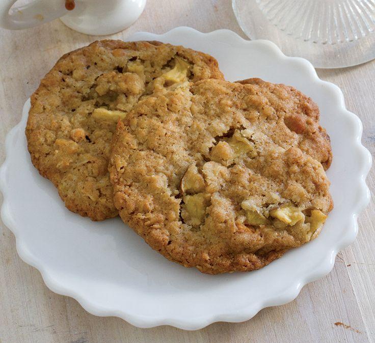 Christy Jordan's Apple Butterscotch Oat Cookies
