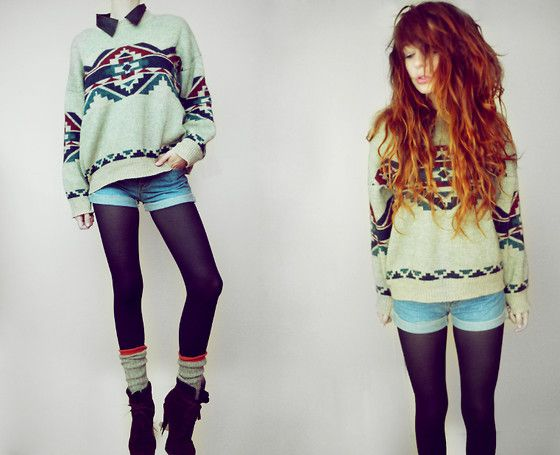 FALL FALL FALL!: Sweaters, Fashion, Style, Clothes, Shorts Tights, Hairs, Ezra Nadie, Outfit, Fall Winter