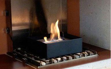 M s de 25 ideas incre bles sobre chimeneas ecologicas en - Chimenea de alcohol ...