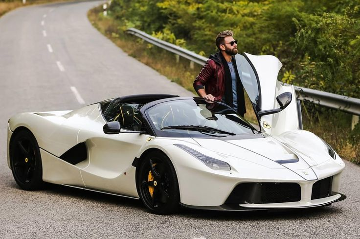 Josh Cartu treats social audience to first look at white LaFerrari Aperta