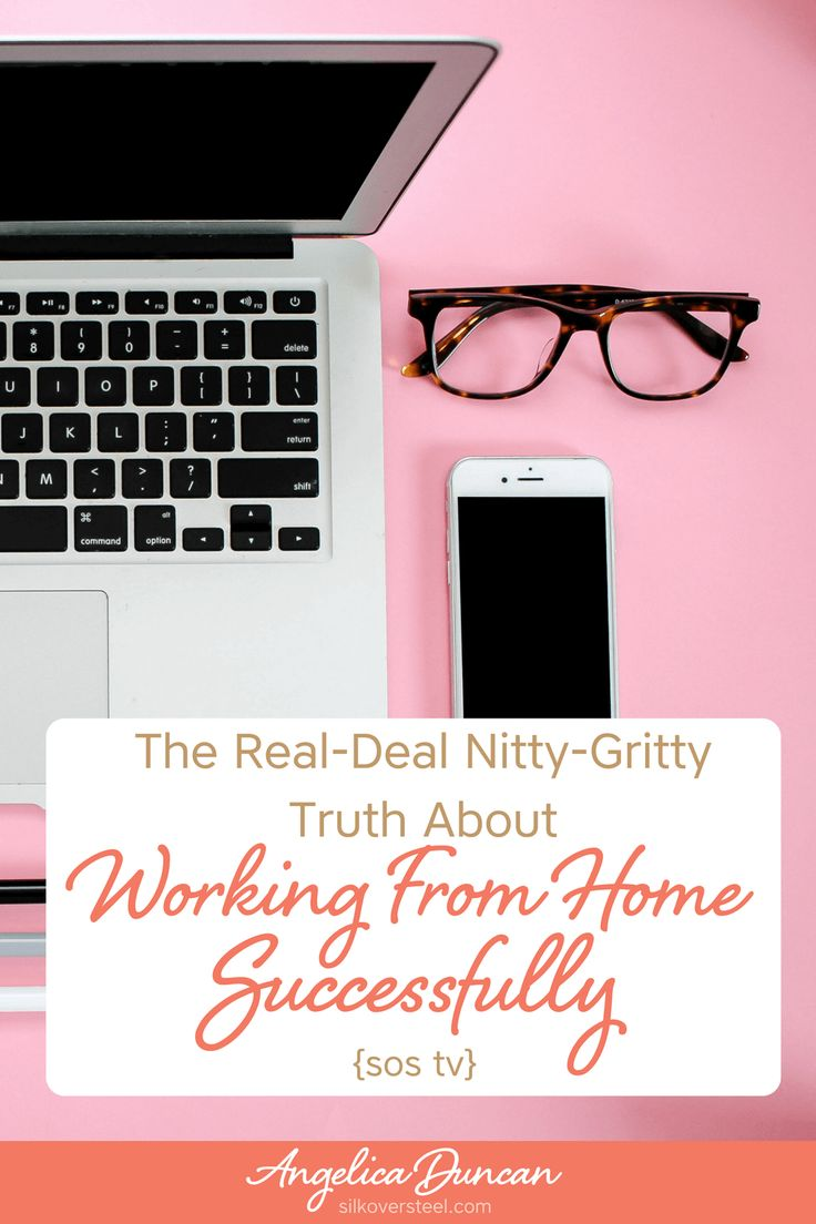 Working from home successfully is more than just a glammed up pipe dream. It takes a lot of dedication and discipline. Let me share some insights with you!