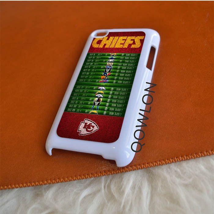 Kansas City Chiefs Schedule iPod Touch 4 | 4TH GEN Case