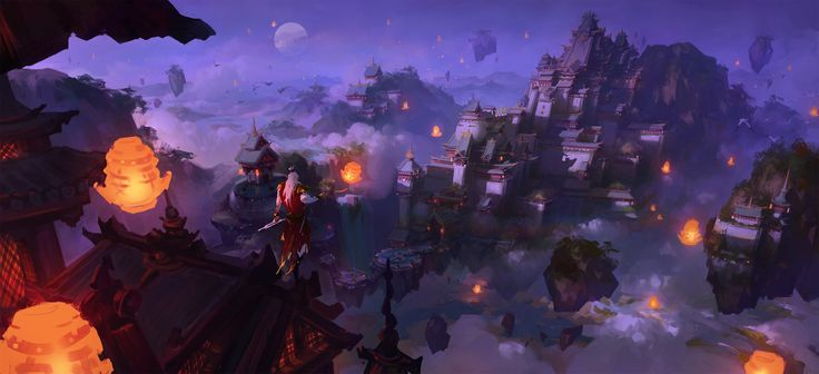 ArtStation - 白帝城, Wang hao