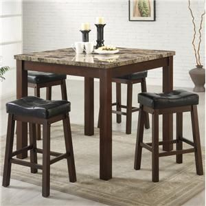 Coaster Dining Set Faux Marble Table Top with 4 Barstools Cherry Frame  Product Description Dining tableKincaid Stonewater Tall Dining Table  Dining Room Furniture Best  . Kincaid Stonewater Tall Dining Table. Home Design Ideas
