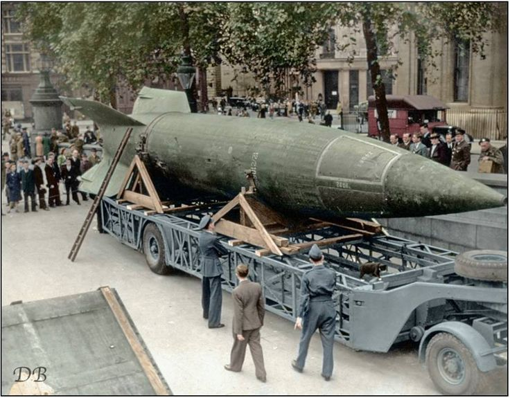 "bmashina: ""German ballistic missile Vergeltungswaffe-2, all known as ""V-2"" """