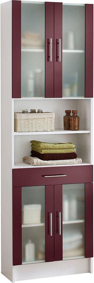 Die besten 25+ Lila badmöbel Ideen auf Pinterest Lila badezimmer - badezimmer hochschrank 60 cm breit