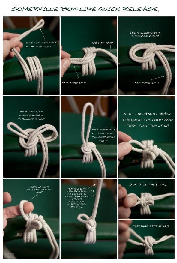 Rope and bondage and knots