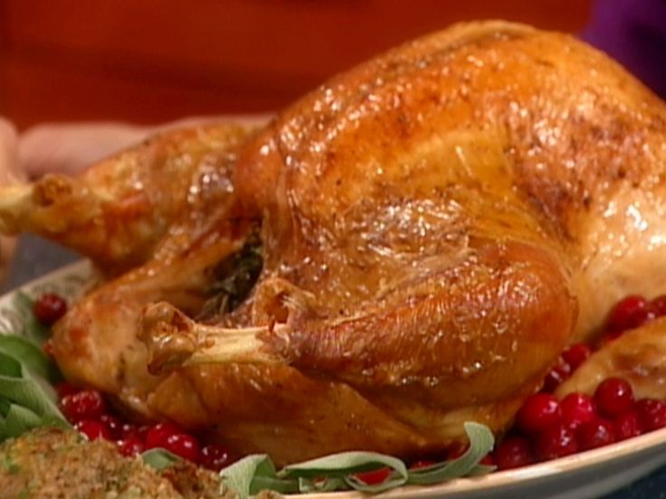 The perfect Roasted Turkey recipe from Food Network Kitchen via Food Network