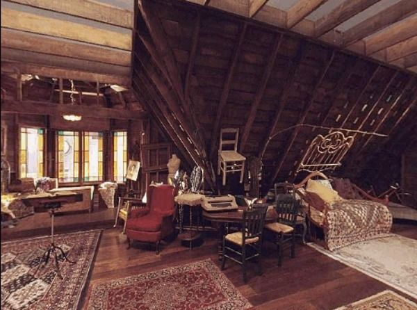 Charmed Halliwell Manor attic 2  love this
