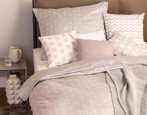 Shop Bettwasche Grid Aus Der Schoner Wohnen Kollektion Bild 9 Bettwasche Schone Bettwasche Und Wohnen