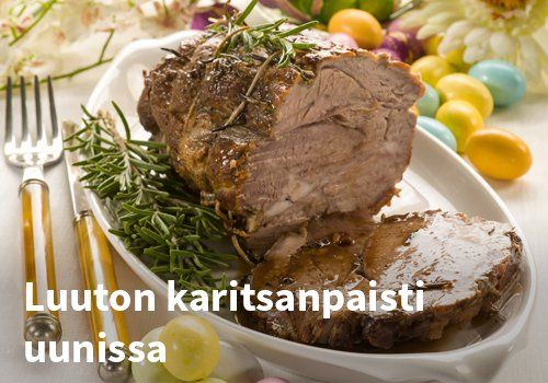 Luuton karitsanopaisti uunissa #kauppahalli24 #pääsiäinen #karitsa #ruoka #resepti