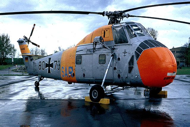 Sikorsky S-58 Hubschrauber 002