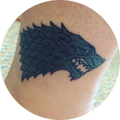 House stark done by benny at atomic tattoos orlando fl for Atomic tattoo orlando
