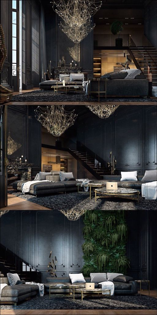 Manly spaces Black is famously versatile
