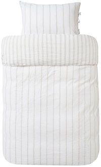 Høie Oliver, 2-delt sengesæt, taupe
