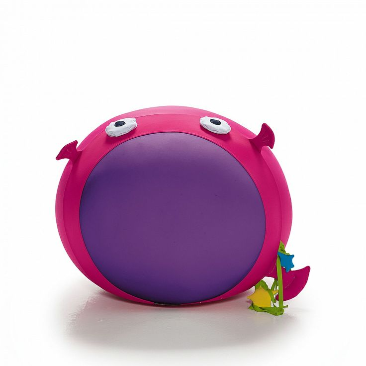 Animals Mutsi expandable pouf for kids. Comfortable and ideal for kids playroom. Flamboyant and bright colours.