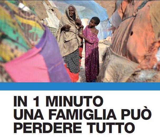 In un minuto una famiglia può essere dilaniata dalla guerra, un bambino separato dai propri genitori, il frutto di una vita di lavoro e sacrifici dissolto. E inizia un percorso ad ostacoli, fatto di stenti, vergogna e sofferenza. In quel minuto UNHCR si attiva, riunificando una famiglia, proteggendo un bambino, dando un rifugio a chi è dovuto scappare.  www.unhcr.it