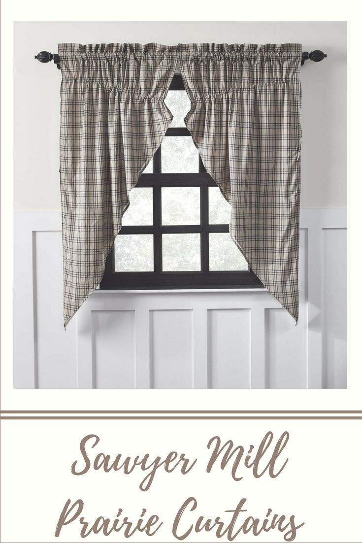Sawyer Mill Prairie Curtains Set Of 2 Curtains Country