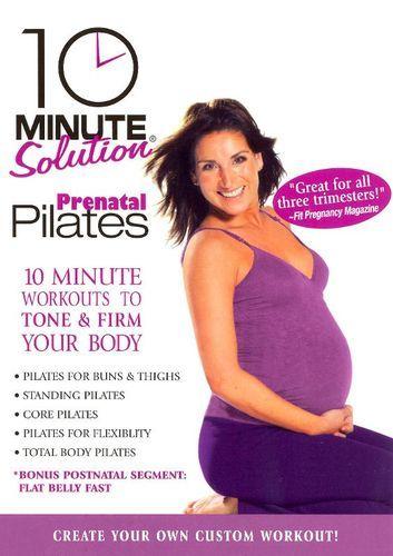 10 Minute Solution: Prenatal Pilates [DVD] [2007]