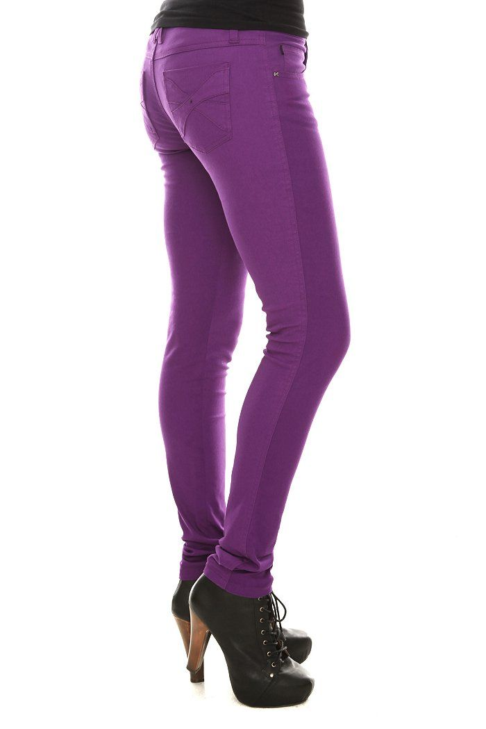 1000  ideas about Purple Skinny Jeans on Pinterest | Purple jeans